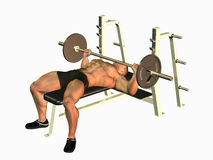 Bench Press Stock Photos