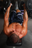 Bench Press Stock Image