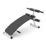 Bench press isolated Royalty Free Stock Image