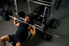 Bench Press Workout Stock Images