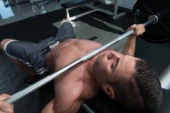Bench Press Workout Stock Photos