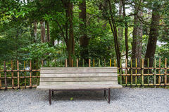 Bench public Stock Photography
