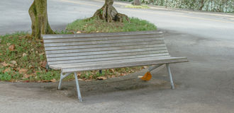Bench for relax on background. Stock Image