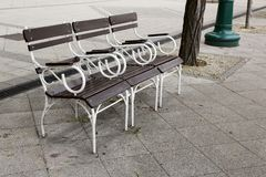 Bench for rest Royalty Free Stock Photos