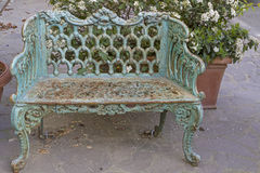 Bench in Retro look Royalty Free Stock Images
