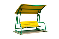 Bench a rocking chair Royalty Free Stock Images