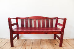 Bench in a room Royalty Free Stock Image