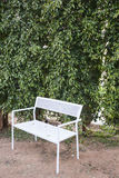 Bench seat garden Stock Photo
