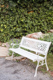 Bench seat garden Stock Photography
