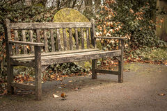 The Bench. Shot at St Fagans National History Museum, Cardiff, Wales Stock Images