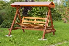 Bench swing Royalty Free Stock Image