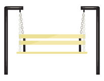 Bench - swing. Vector Stock Photography