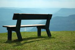 Bench for think Royalty Free Stock Photography