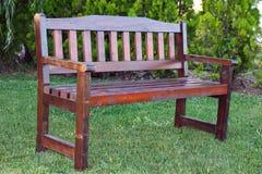 bench trä Royaltyfria Bilder