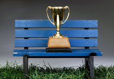 Bench Trophy. Stock Photo