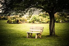 Bench Royalty Free Stock Photos