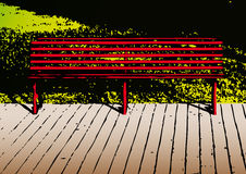 Bench (vector) Stock Photography