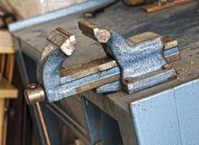 Bench vice Royalty Free Stock Photo