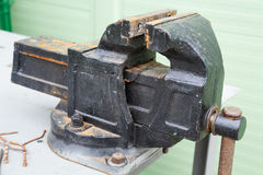 Bench vice Royalty Free Stock Images