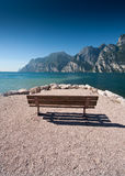 Bench with view Royalty Free Stock Photos