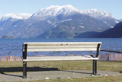 Bench With a View Stock Photography