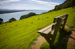 Bench with a view Royalty Free Stock Photography