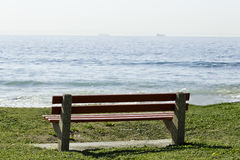 Bench with a view Stock Image