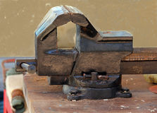 Bench vise Royalty Free Stock Images