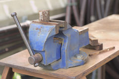 Bench vise Royalty Free Stock Photos