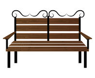 Bench or wooden chair icon design. Stock Image