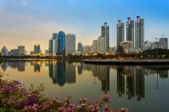 Benchakitti Park. Bangkok in thailand Stock Photo