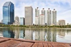Benchakitti Park in Bangkok Thailand Stock Image