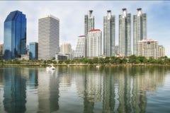 Benchakitti Park in Bangkok Thailand Stock Photography