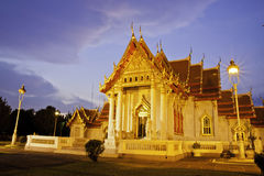 Benchamabophit Tempel von Bangkok Thailand Stockfotos
