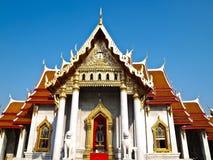 Benchamabophit temple in Bangkok , Thailand Stock Photo