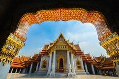 Benchamabophit. Temple is the 1in9 temple landmark of bangkok. (thailand Stock Photo