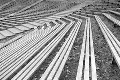 benches деревянное Стоковое Изображение RF