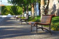 benches дорожка Стоковое Фото