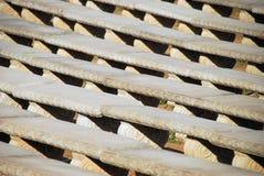 benches конкретные рядки стоковые фото
