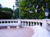 benches публика Стоковое Изображение