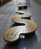 benches самомоднейший рядок Стоковая Фотография RF