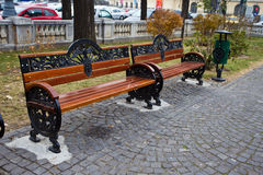 Benches Royalty Free Stock Image