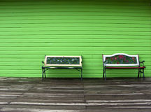 Benches Stock Image