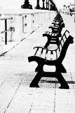 Benches in Bari Stock Photography