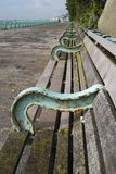 Benches on Brighton Seafront. UK Stock Photography