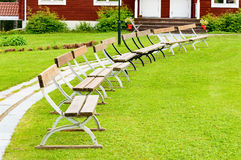 Benches Royalty Free Stock Photo
