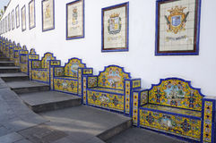Benches, Grand Canary Stock Images