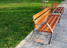 Free Benches In The Park Stock Images - 12625004
