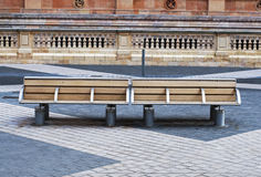 Benches in London Stock Image