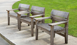 Benches in London. Stock Photography